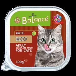 Aluminium cup cat - beef 16x 100 gr