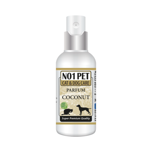 No1-pet Coconut Parfum, alcohol-free
