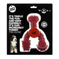 Tasty Bone Trio Bone Beef Toy