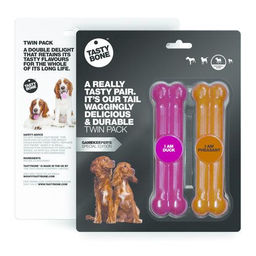 Tasty Bone Twinpack Game - Duck & Pheasant