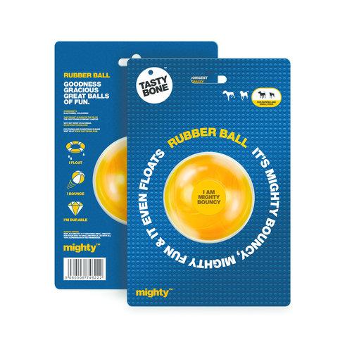 Tasty Bone Mighty Rubber Ball Small