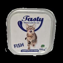 TASTY tubs cat Fish Pate 100 grams