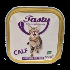 TASTY tubs cat Calf Pate 100 grams