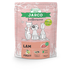 Jarco premium cat vers vlees lam 400 gr