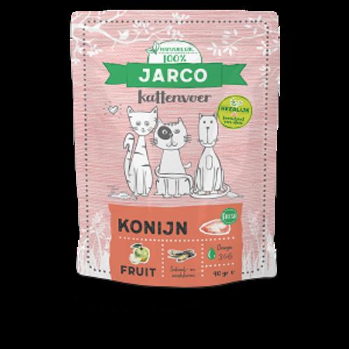 Jarco Jarco premium cat vers vlees konijn 400 gr