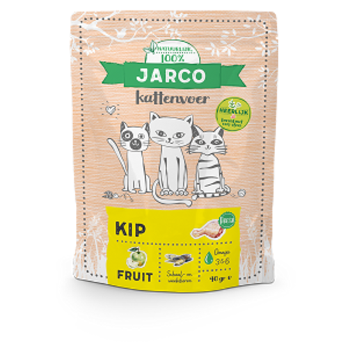 Jarco Jarco premium cat vers vlees kip 400 gr