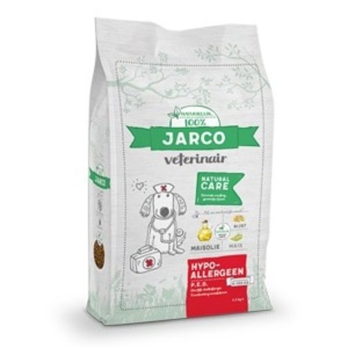 Jarco Jarco dog veterinair hypoallerg (PED) 2-100kg mais 2,5 kg
