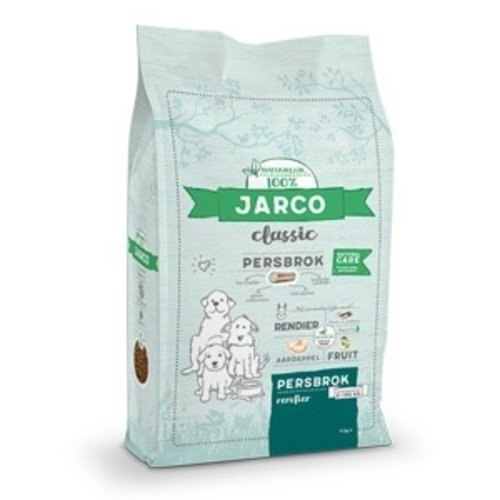 Jarco Jarco dog classic press chunk 2-100kg reindeer 4 kg