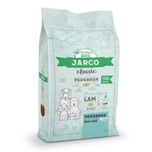 Jarco Jarco dog classic press chunk 2-100kg lamb/rice 12.5kg