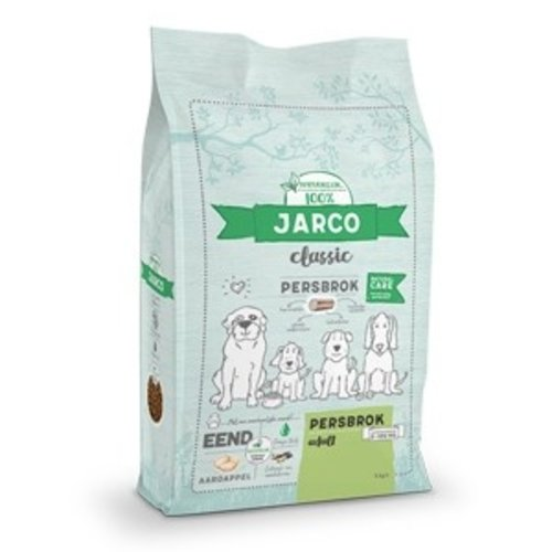 Jarco Jarco dog classic press chunk adult 2-100kg duck 4 kg