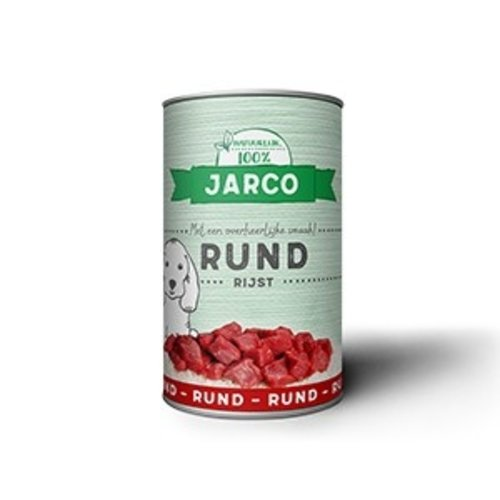 Jarco Jarco dog can beef/rice 400 gr