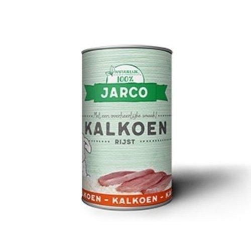 Jarco Jarco dog blik kalkoen/rijst 400 gr