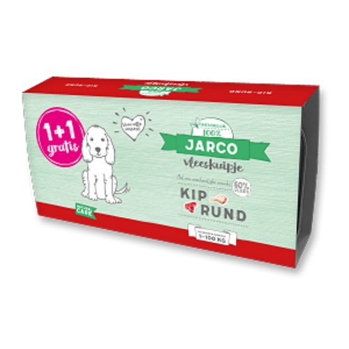 Jarco Jarco dog alu kip-rund (2-pack) 2x150 gr