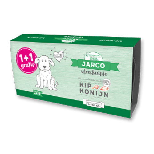 Jarco Jarco dog alu kip-konijn (2-pack) 2x150 gr