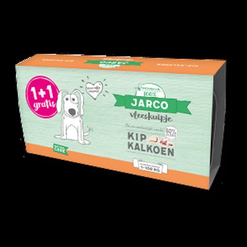 Jarco Jarco Hund Alu Huhn Limette (2-Pack) 2x150 gr