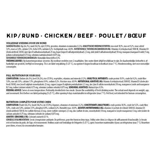 Jarco Jarco dog sausage medium 11-25kg chicken/beef 450 gr