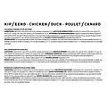 Jarco Jarco dog worst large 26-45kg kip/eend 600 gr