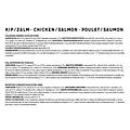 Jarco Jarco dog sausage giant chicken/salmon 750 gr