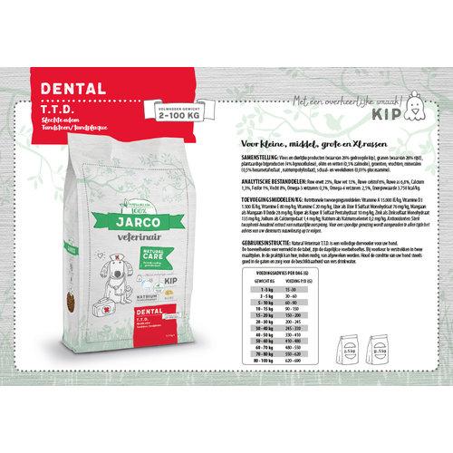 Jarco Jarco dog veterinair dental TTD 2-100kg kip 2,5 kg