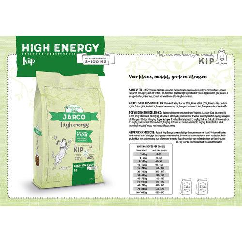 Jarco Jarco dog specials high energy 2-100kg kip 2,5 kg