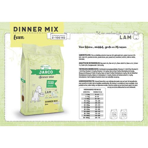 Jarco Jarco dog specials dinner mix 2-100kg lam 12,5 kg