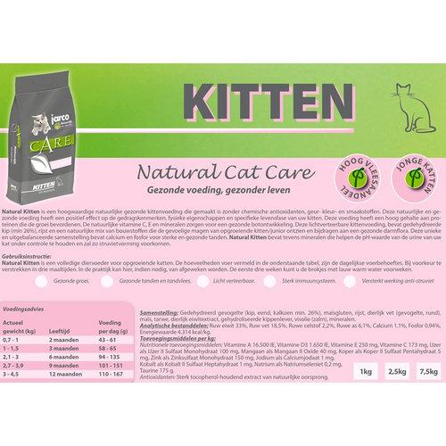 Jarco Jarco Cat Natural Kitten Gevogelte 6 kg