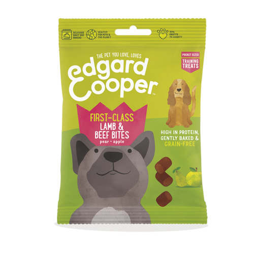 EDGARD EN COOPER Edgard & Cooper training bites lam/rund/peer/appel 50 gr
