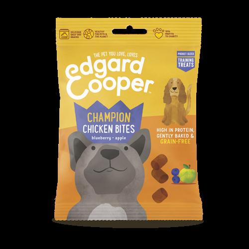 EDGARD EN COOPER Edgard & Cooper training bites chicken/blueberry/apple