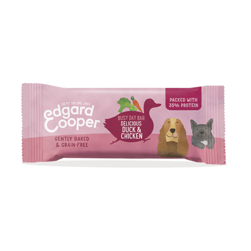 EDGARD EN COOPER Edgard & Cooper reep eend/kip/broccoli/erwt/wrtl 25 gr