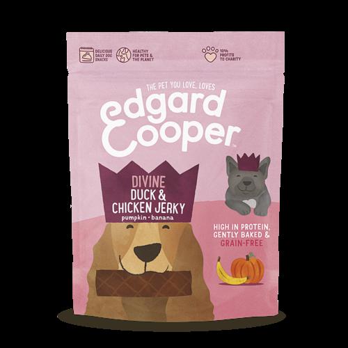 EDGARD EN COOPER Edgard & Cooper jerky eend/kip/pomp/banaan 150 gr