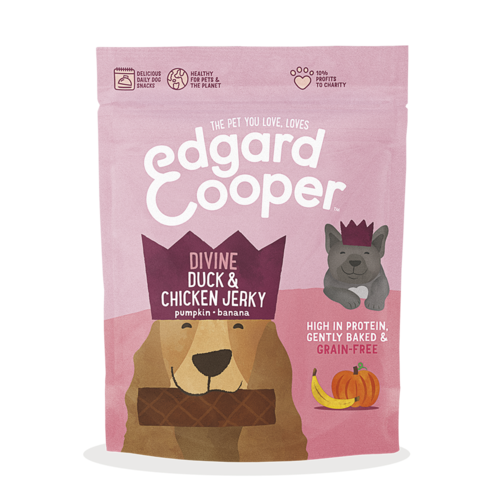 EDGARD EN COOPER Edgard & Cooper Jerky Ente / Huhn / Pumpe / Banane