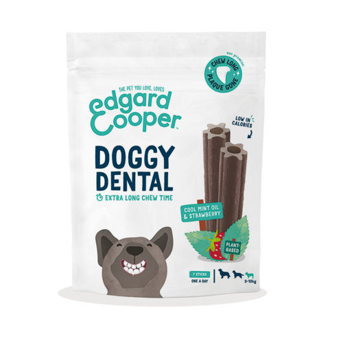 EDGARD EN COOPER Edgard & Cooper doggy dental strawberry&mint m