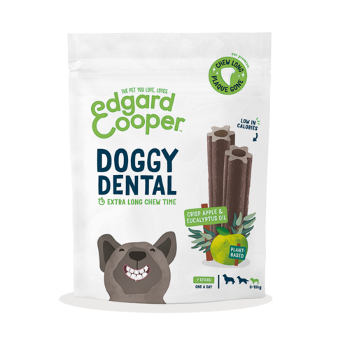 EDGARD EN COOPER Edgard & Cooper doggy dental apple&eucalyptus l