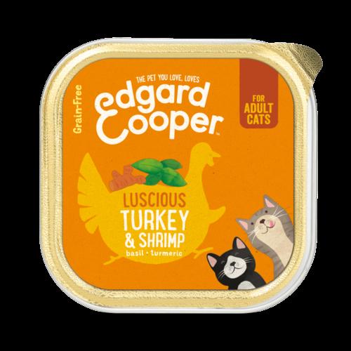 EDGARD EN COOPER Edgard & Cooper kat kuipje kalk/garnalen 85 gr