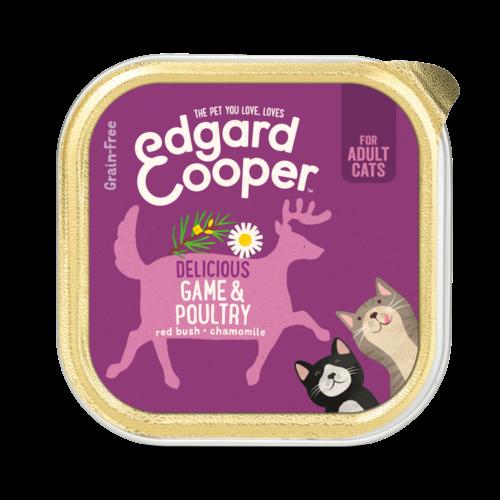 EDGARD EN COOPER Edgard & Cooper kat kuipje gevogelte/wild 85 gr