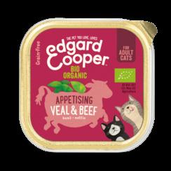 Edgard & Cooper cat tub organic beef / veal