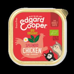 Edgard & Cooper kat kuipje bio kip 85 gr