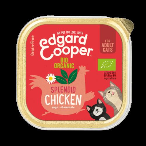 EDGARD EN COOPER Edgard & Cooper cat tub organic chicken