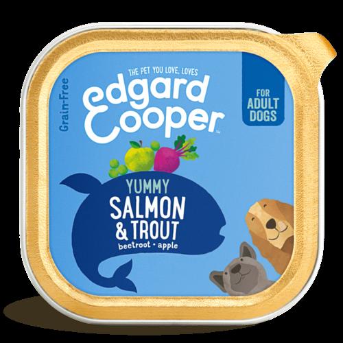 EDGARD EN COOPER Edgard & Cooper hond kuipje zalm box 150 gr