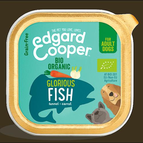EDGARD EN COOPER Edgard & Cooper hond kuipje vis organische box 100 gr