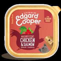 Edgard & Cooper hond kuipje sen kip/zalm box 150 gr