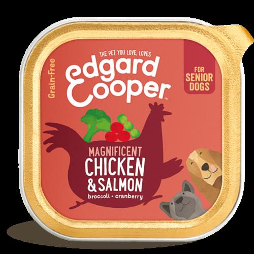 EDGARD EN COOPER Edgard & Cooper dog tub sen chicken/ salmon box