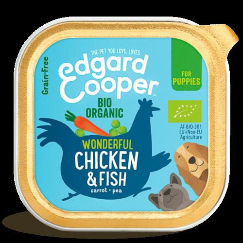 EDGARD EN COOPER Edgard & Cooper hond kuipje kip pup organische box 100 gr
