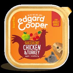 Edgard & Cooper hond kuipje kip box 150 gr