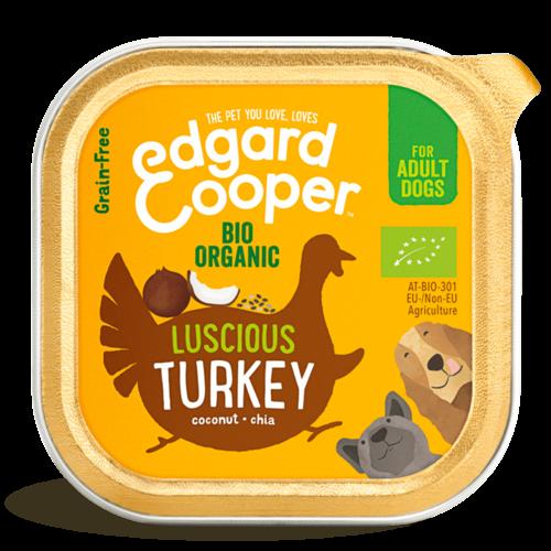 EDGARD EN COOPER Edgard & Cooper hond kuipje kalkoen organische box 100 gr