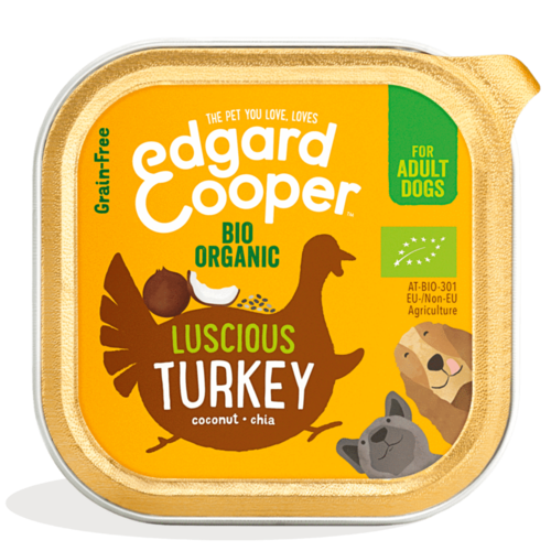 EDGARD EN COOPER Edgard & Cooper Hundenapf Truthahn Bio-Laufstall