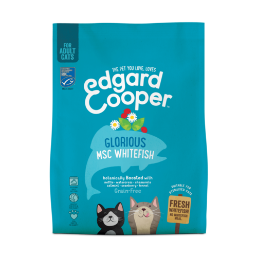 EDGARD EN COOPER Edgard & Cooper cat chunk msc whitefish
