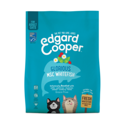 Edgard & Cooper Katzenbrocken Kätzchen Huhn/Ende/msc Felchen
