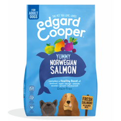 Edgard & Cooper dog chunk of fish