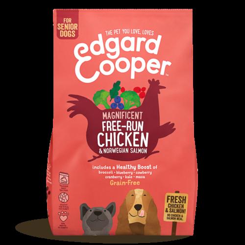 EDGARD EN COOPER Edgard & Cooper dog chunk senior